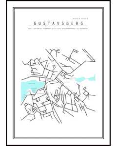Gustavsbergs Map