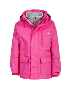 Trespass Childrens/kids Prime Ii Waterproof 3-in-1 Jacket
