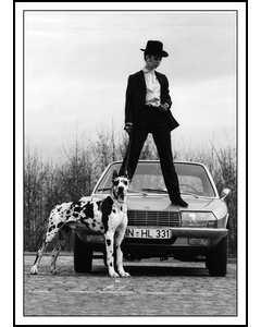 Modell Med Hund