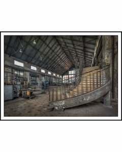 Interiör I Gammal Fabrik