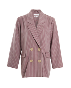 The Aisling Blazer  Dusty Pink