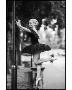 Ballet Dancer Taking A Selfi