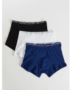 Short Shorts, Noos Solids, 3-p Blue Depths