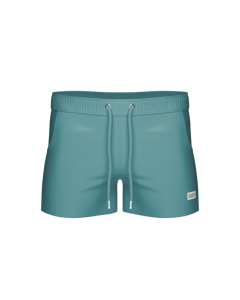 Breeze Long Swim Shorts Dark Aqua