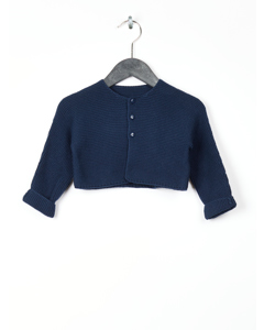 Pull, Gilet (tricot) Marine