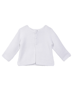 Pull, Gilet (tricot) Blanc