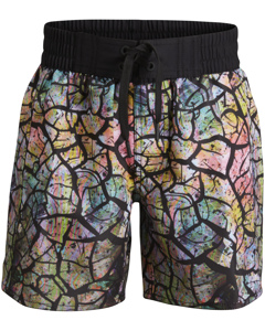 Boys Board Shorts, Bb Drylands, 1-p Black