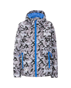 Trespass Childrens/kids Qikpac Waterproof Packaway Printed Jacket