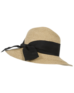 Trespass Womens/ladies Brimming Straw Summer Hat