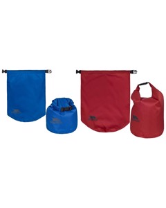 Trespass Euphoria 2 Piece Dry Bag Set (10 And 15 Litres)