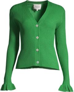 Mariella Knit Cardigan Medium Green