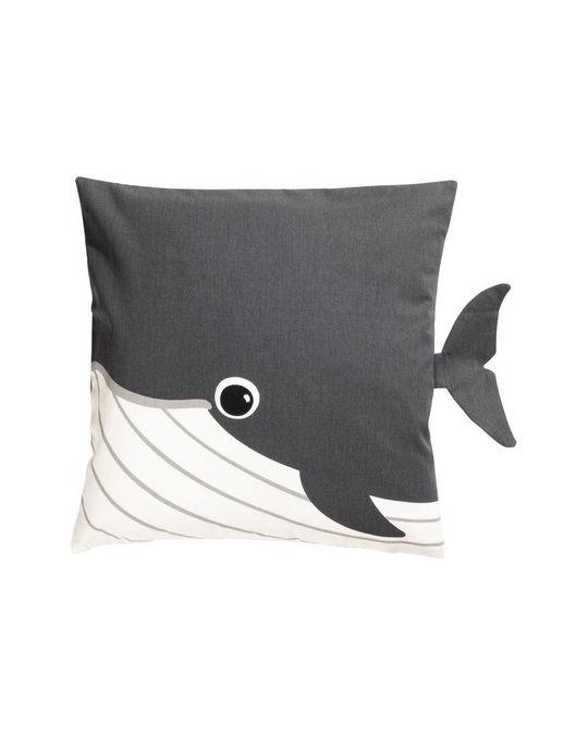 H&M HOME Animal Cushion Cover 40x40 Grey