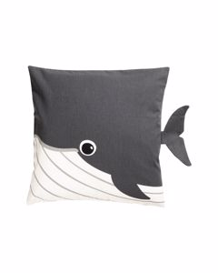Animal Cushion Cover 40x40 Grey