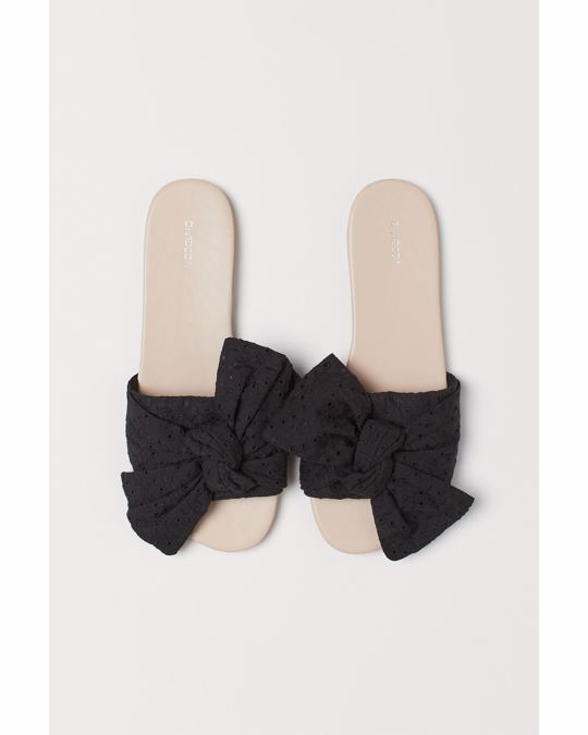 H&M Knotty Sandal Black