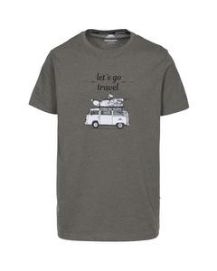 Trespass Herren T-Shirt mit Campervan-Motiv
