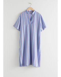 S1 Luana Kleid Blau