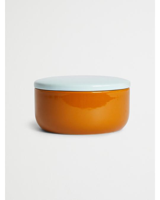 Bloomingville Jar W/lid, Brown, Stoneware Brown