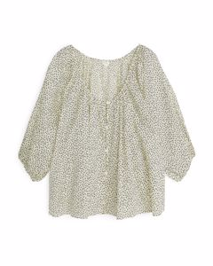 Floral Blouse Yellow