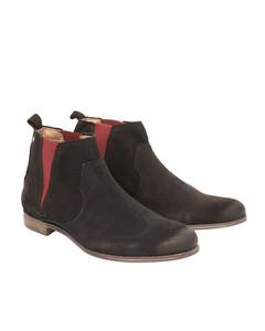 Humble Suede Shoe Black