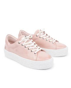 Sly W Leather Shoe Pink