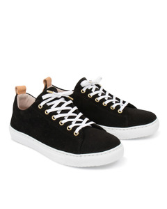 Stoked Low W Suede S Black