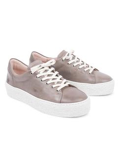 Sly W Leather Shoe Grey