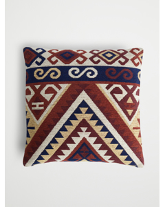 Cushion Cover Jacquard Red