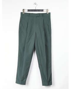 Tailored Trousers Green