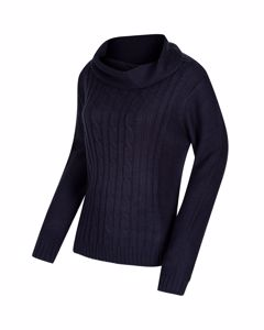 Regatta Great Outdoors Womens/ladies Karlee Cowl Neck Cable Knit Sweater