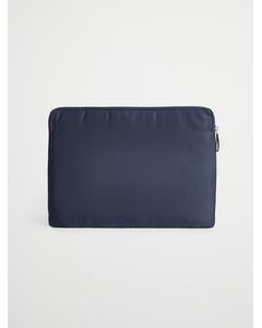 Nylon Laptop Case Navy
