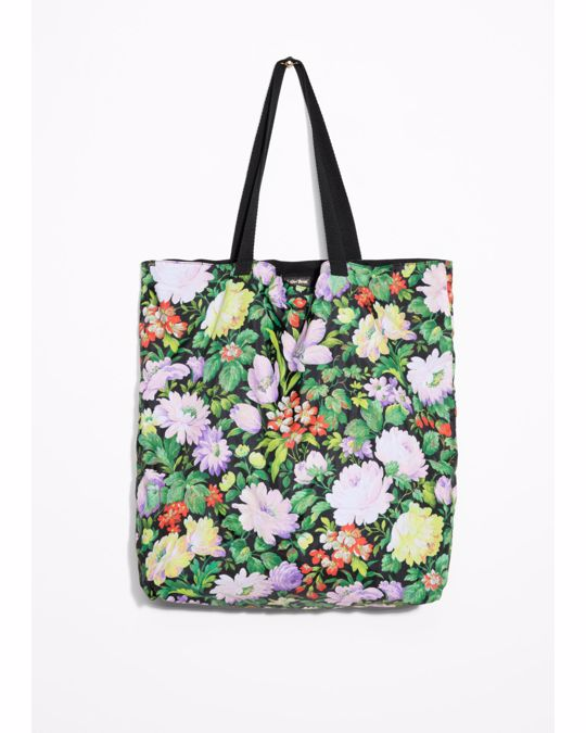& Other Stories Floral Tote Floral Print