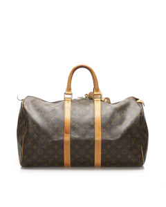 Louis Vuitton Monogram Keepall 45 Brown