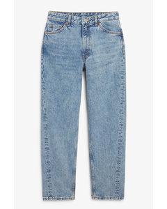 Kyo Jeans in Mittelblau Mittelblau