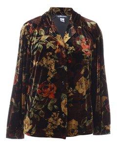 1990s Floral Evening Shirt