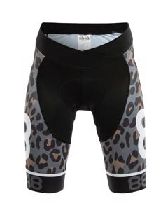 Coca Ws Bike Shorts - Leopard