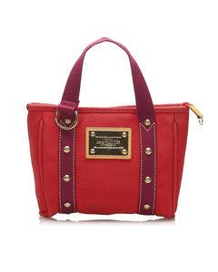 Louis Vuitton Antigua Cabas Mm Red