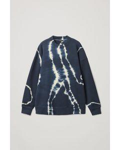 Relaxed Sweatshirt Blue / White