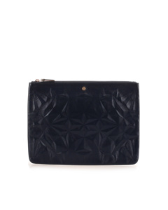 Givenchy Leather Clutch Bag Blue