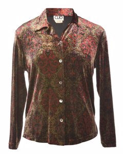 Clio Paisley Evening Blouse