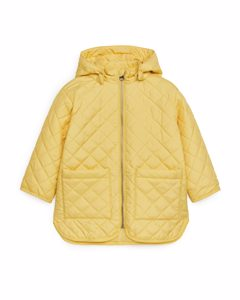 Quilted Jacket Yellow