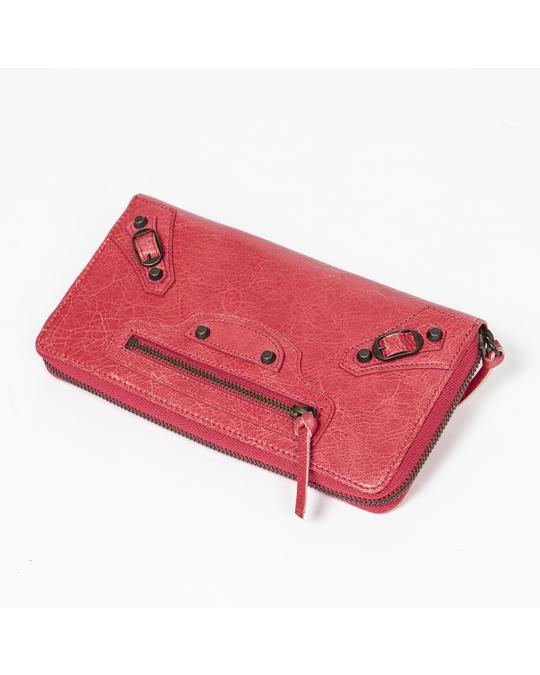 Balenciaga Classic Continental Zip Around Wallet