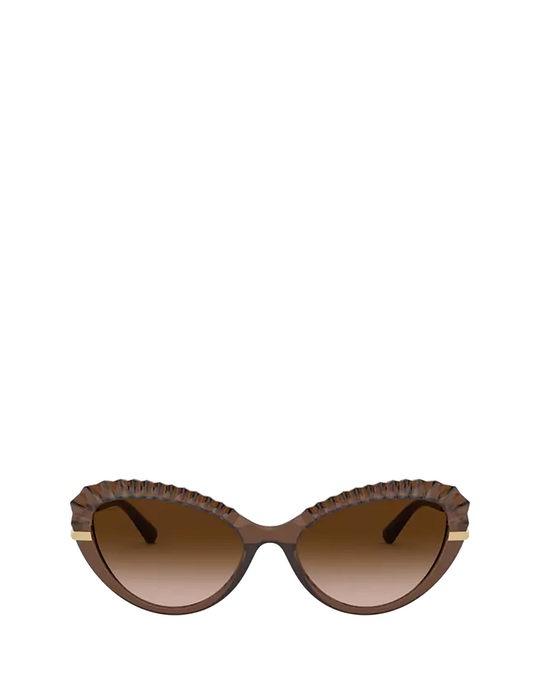 Dolce & Gabbana Dg6133 Transparent Brown Sunglasses