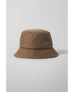 Pilepuff Bucket Hat Brown