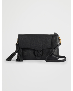 Mcgraw Fold-over Crossbody Black