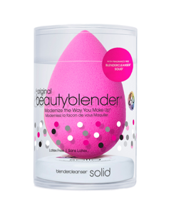 Beautyblender & Fragrance-free Solid Cleanser Pink