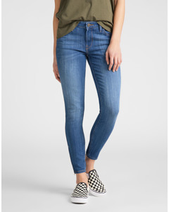 Scarlett Cropped High Blue