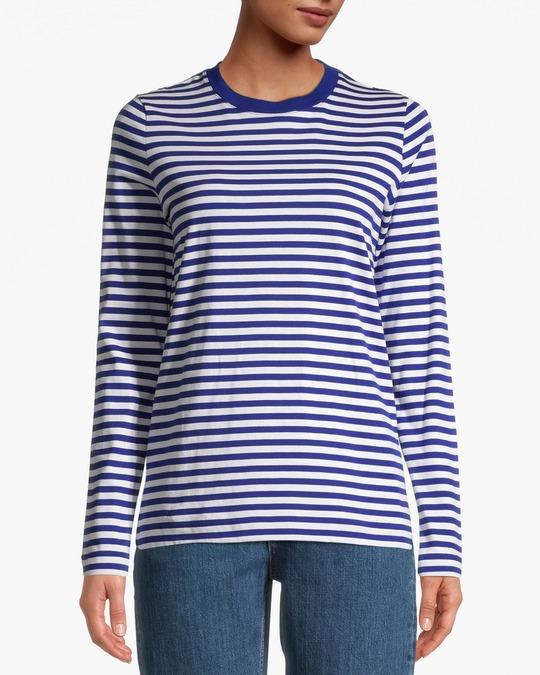 Arket Ls T-shirt Blue