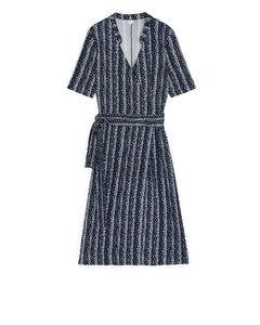 Rayon Dress Blue