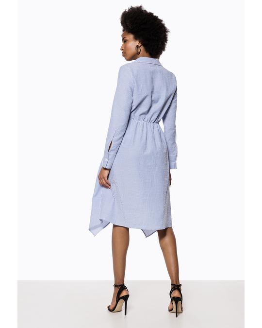 Ivyrevel Shirt Dress Blue Mix Blue Mix