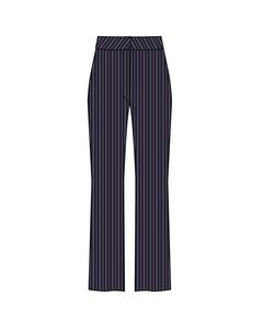 T5018, Woven Pants Long Bl Deep